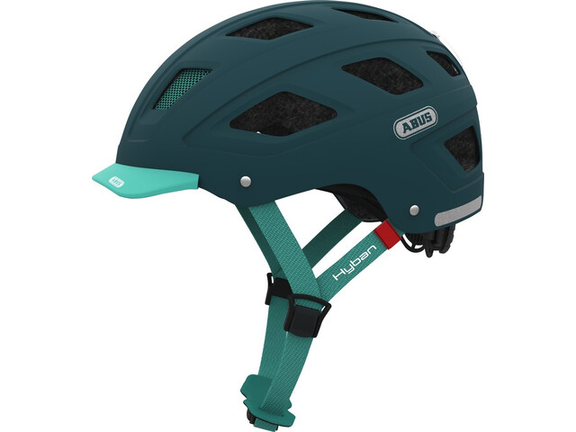 ABUS Hyban Bike Helmet green/teal